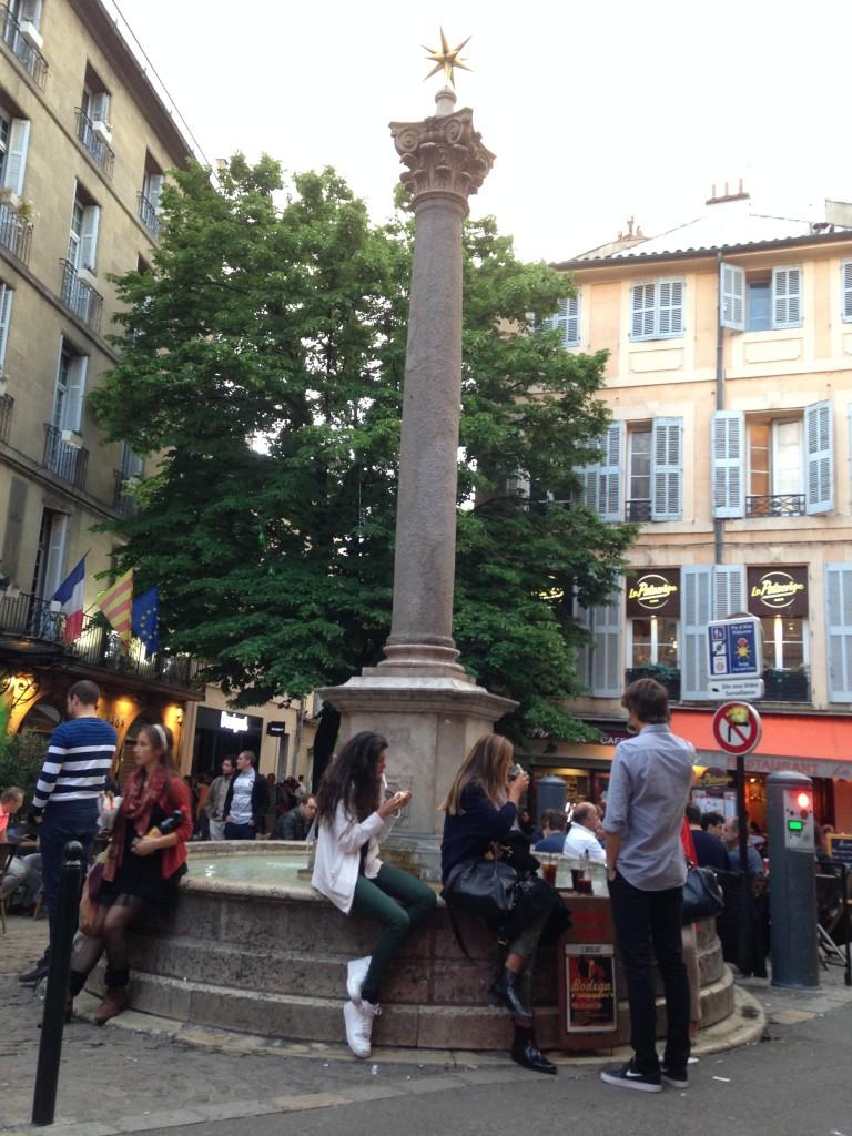 movimento em Aix en Provence