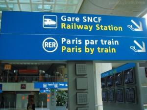 paris par train