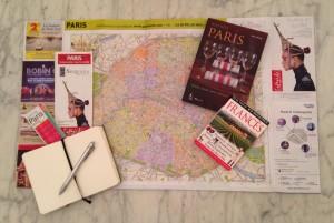 planejando viagem a Paris