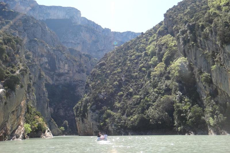 lac sainte croix uma vista incrível