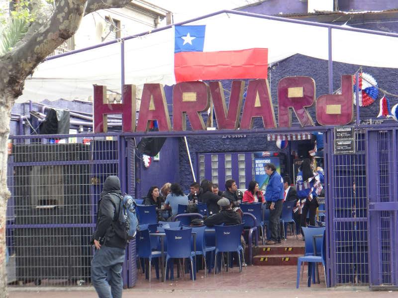 Um dos bares universitários
