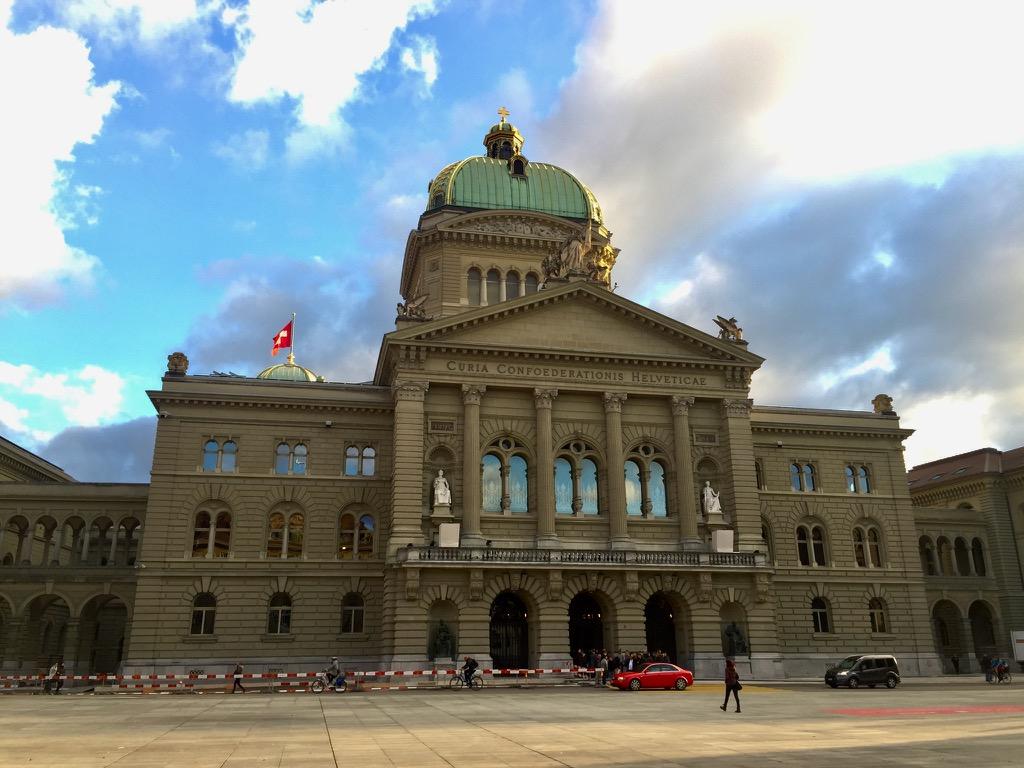 o que fazer em Bern Bundeshause