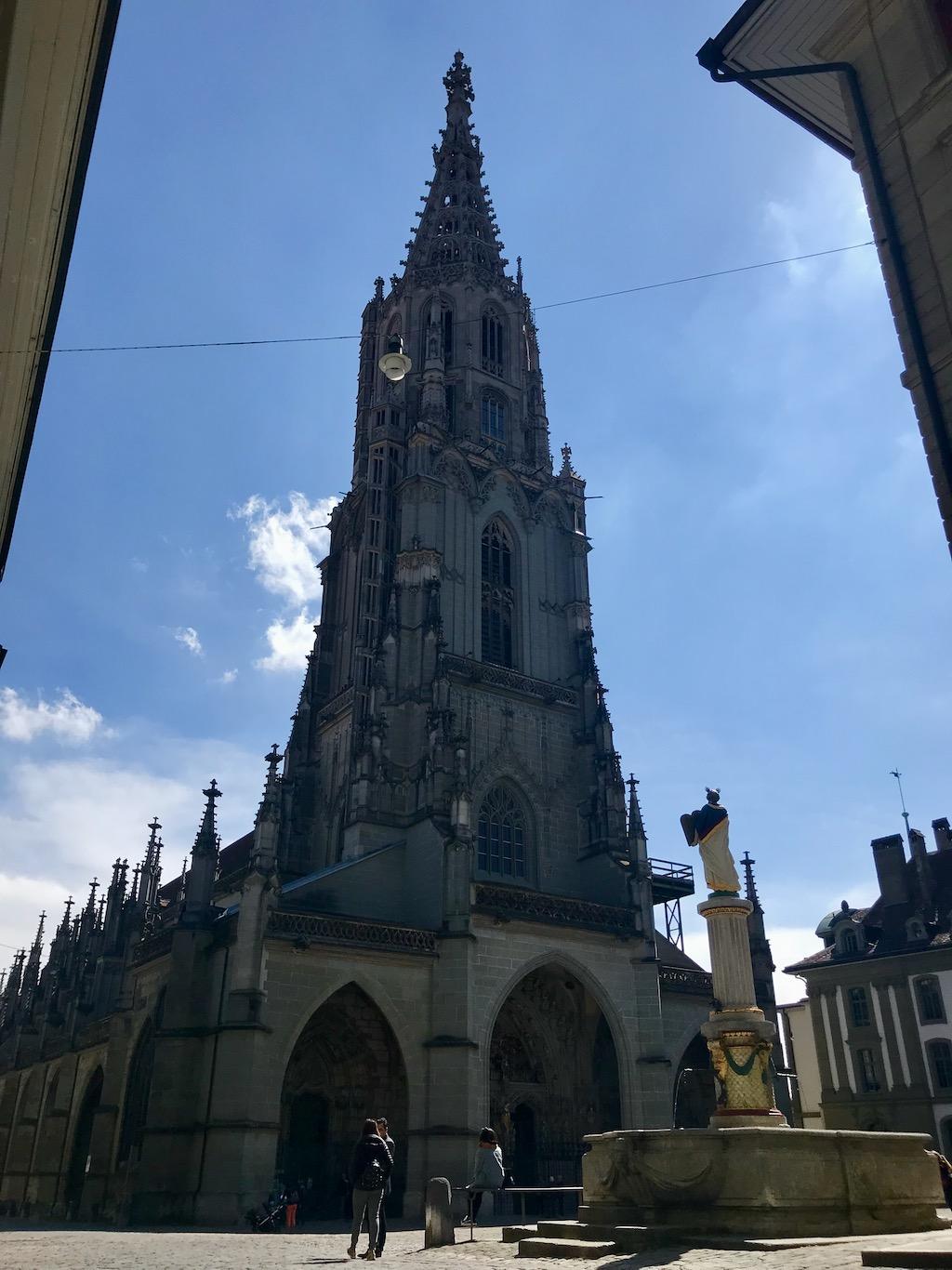 o que fazer em Bern catedral