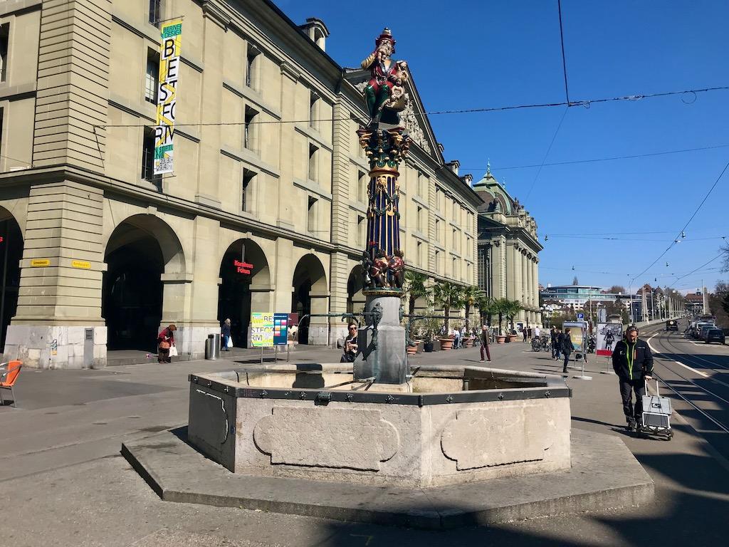 o que fazer em Bern fonte do ogro