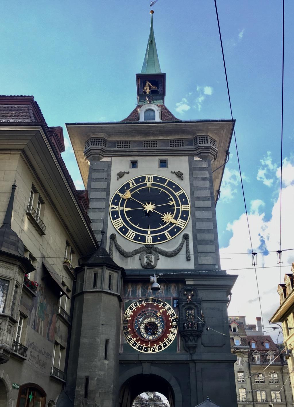 O que fazer em Bern torre do relógio
