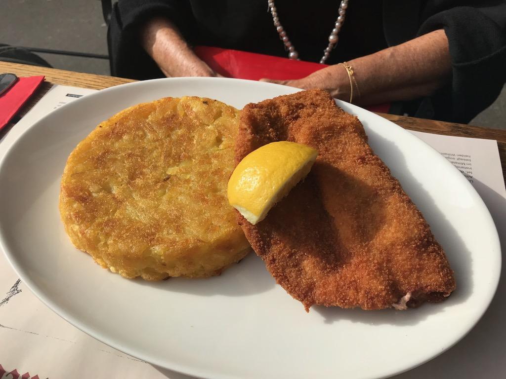 o que comer na suíça schnitzel