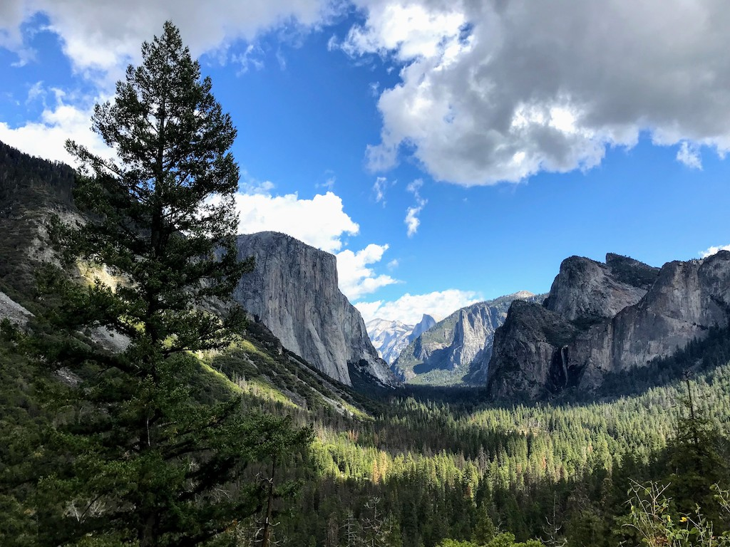 road trip na california yosemite