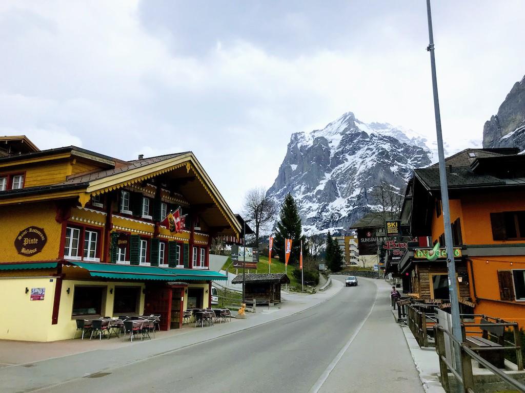 Bate e volta na Suíça Grindenwald