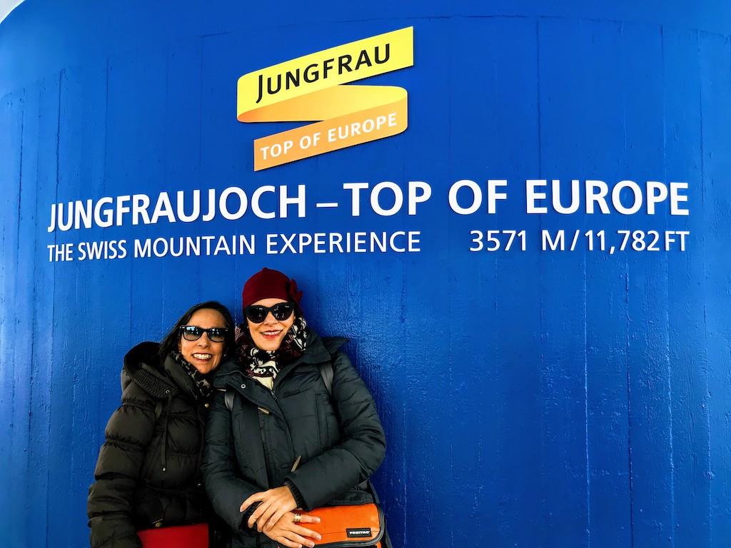 Bate e volta na Suíça Jungfraujoch