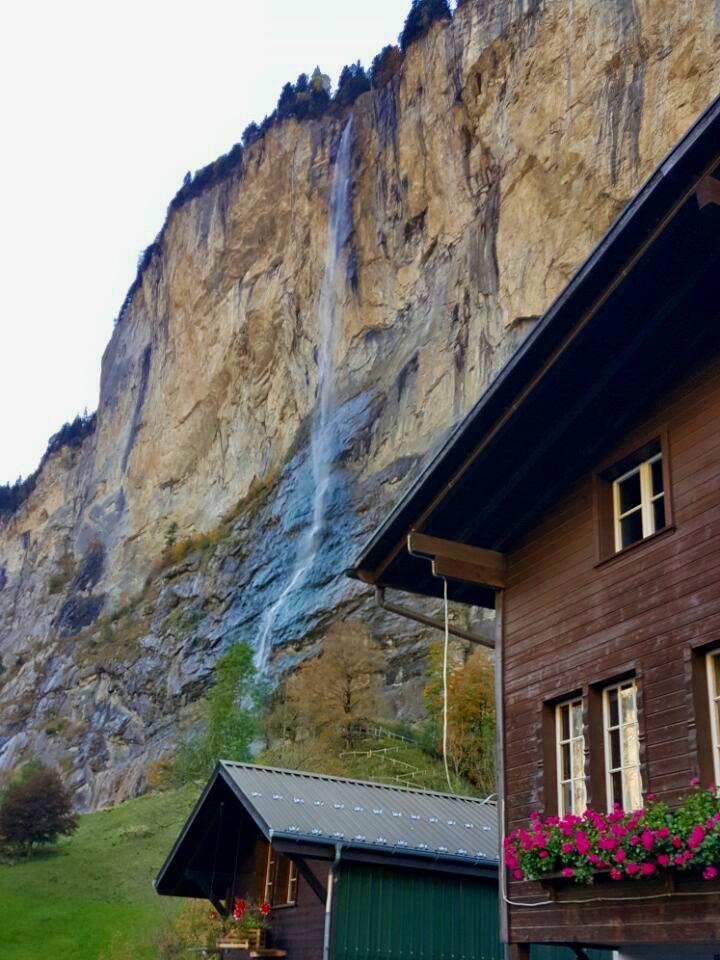 Bate e volta na Suíça Lauterbrunen
