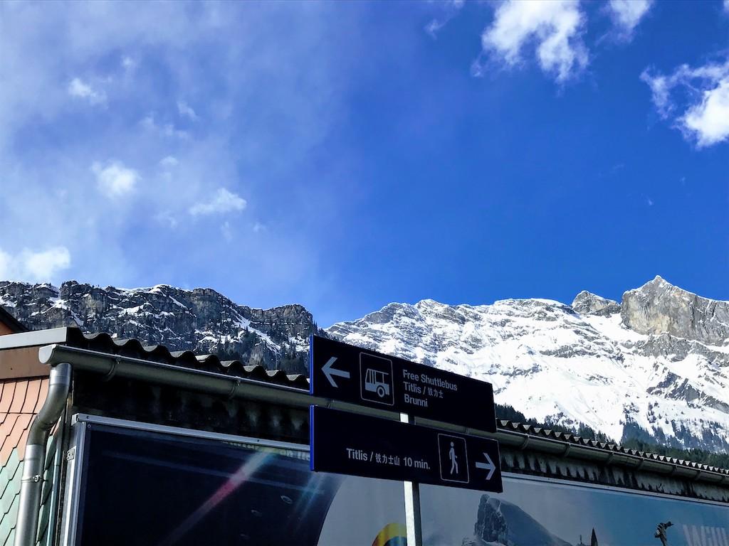 Bate e volta na Suíça Titlis