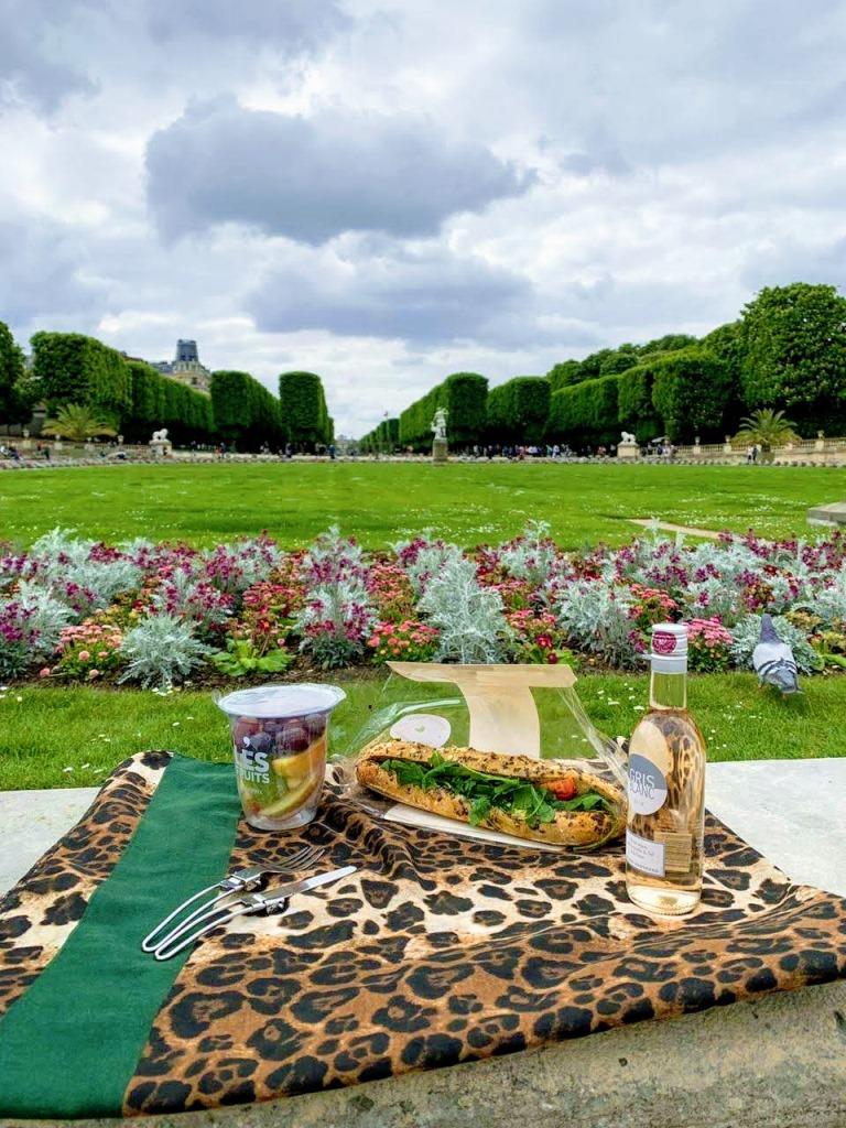 como economizar em Paris picnic